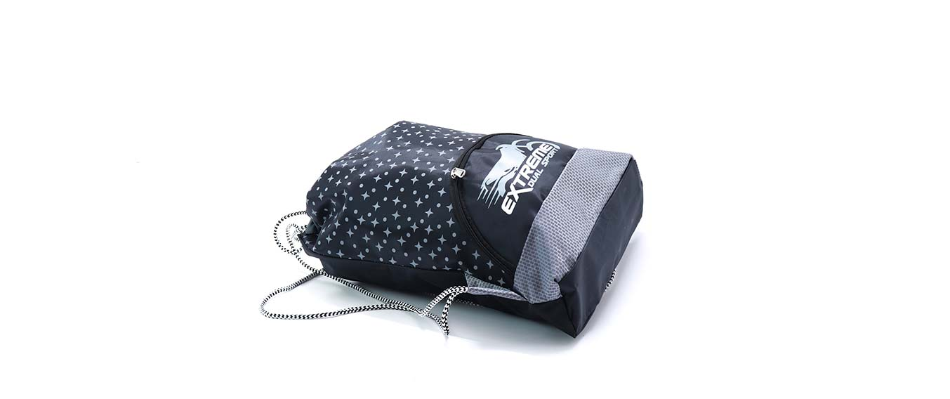 da8d2113898 Sports Bag Black   Grey Extreme Collections.